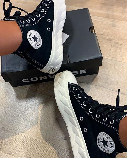 נעלי אולסטאר פלטפורמה צמה נשים Converse Platform Cable