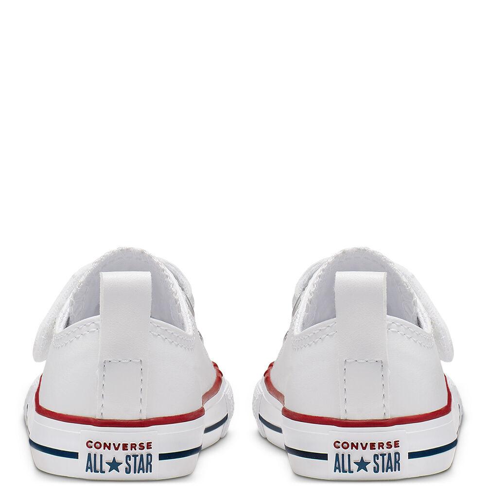 נעלי אולסטאר עור תינוקות Converse 2V Leather