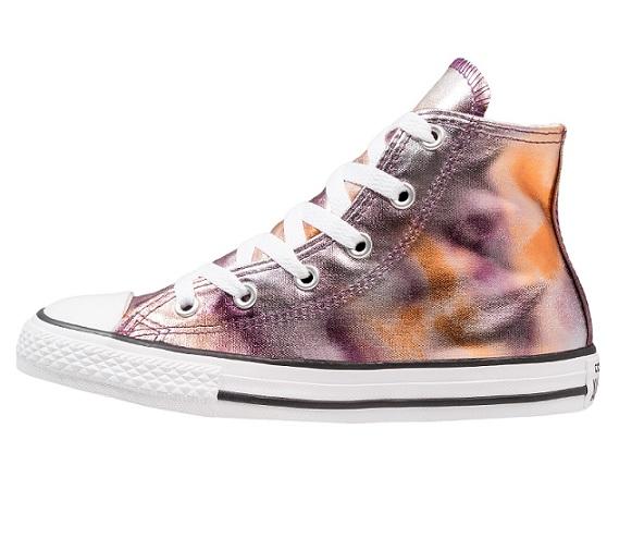נעלי אולסטאר ורוד מטאלי Converse Dusk Pink Metalic - תמונה 1