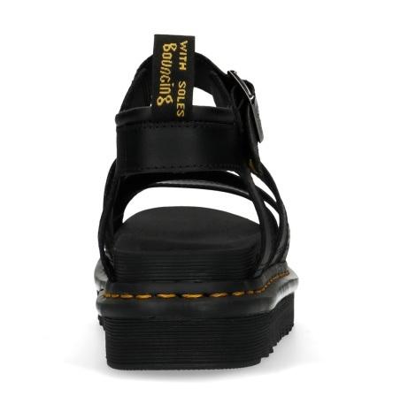 סנדלי דוקטור מרטינס בלייר Doctor Martens Blaire black Hydro Leather