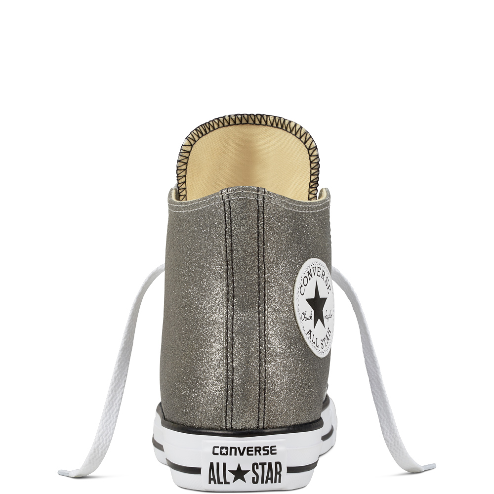 נעלי אולסטאר כסף מטאלי נשים Converse Ombre Metallic - תמונה 3