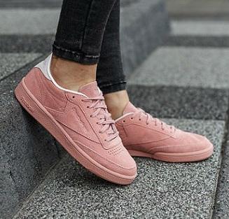 נעלי ריבוק אופנה נשים Reebok Club C 85 Nbk - תמונה 1