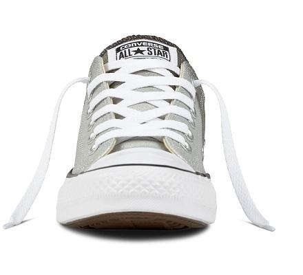 נעלי אולסטאר כסף מנצנץ מטאלי נשים Converse Ombre Metallic