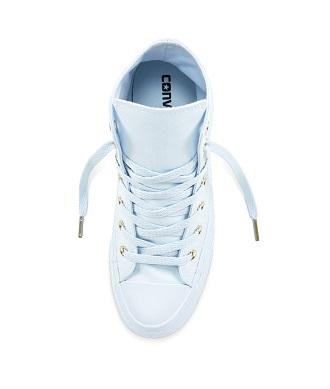 נעלי אולסטאר תכלת זהב נשים Converse Mono Glam