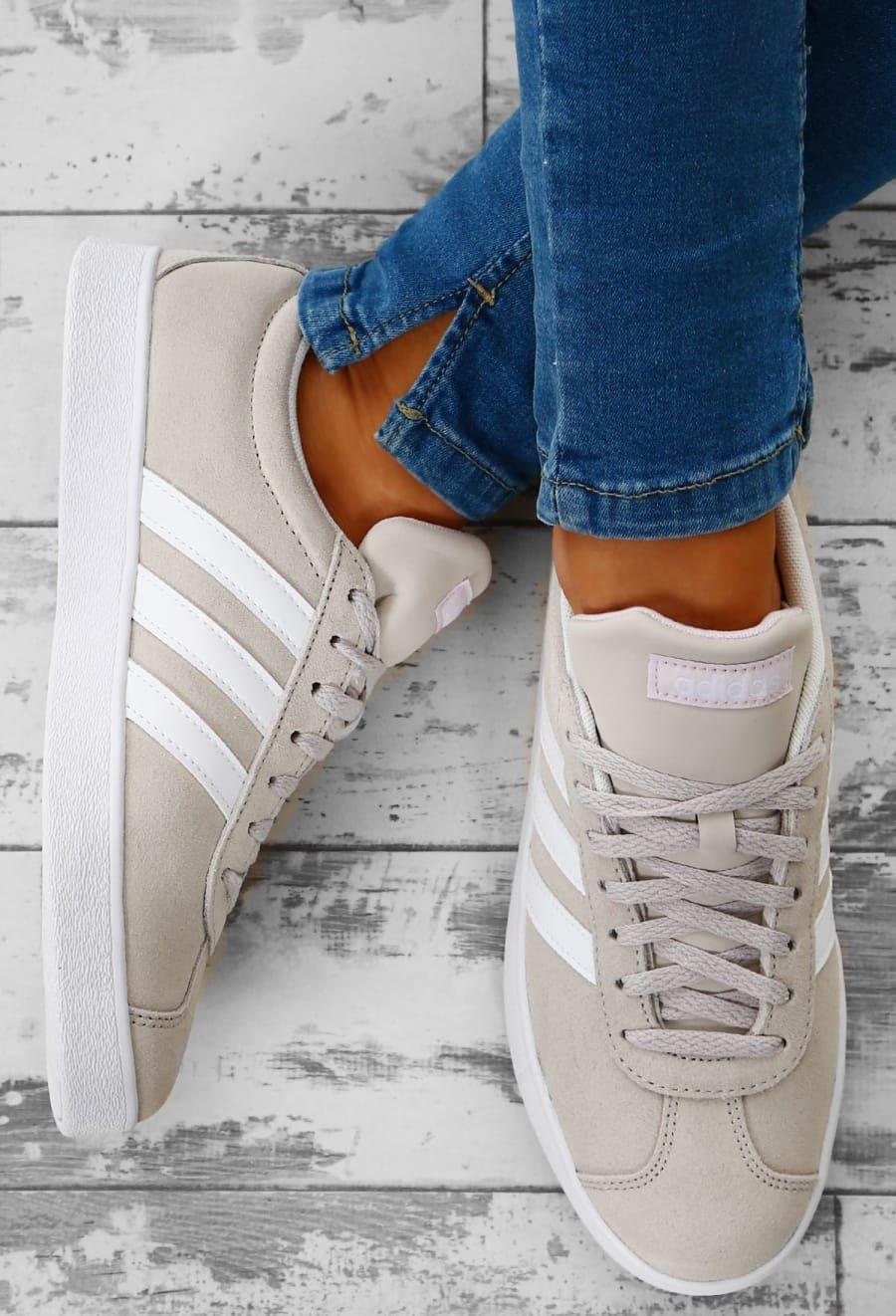 נעלי אדידס אופנה נשים Adidas VL Court 2.0 - תמונה 1