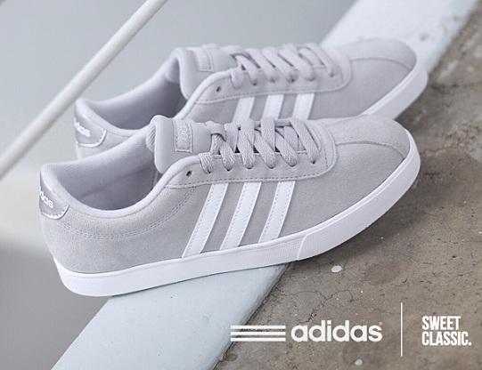 נעלי אדידס אופנה נשים Adidas Courtset - תמונה 4