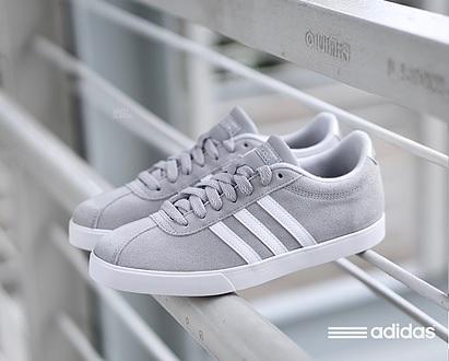 נעלי אדידס אופנה נשים Adidas Courtset - תמונה 3