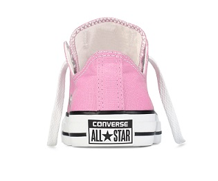 נעלי אולסטאר ילדות ורוד Converse Pink - תמונה 3