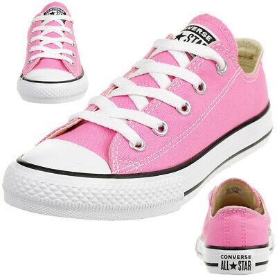 נעלי אולסטאר ילדות ורוד Converse Pink - תמונה 5