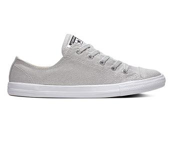 נעלי אולסטאר בובה כסף Converse Dainty Silver