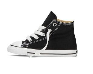 נעלי אולסטאר תינוקות Converse Infant black - תמונה 2
