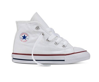 נעלי אולסטאר תינוקות Converse Infant white