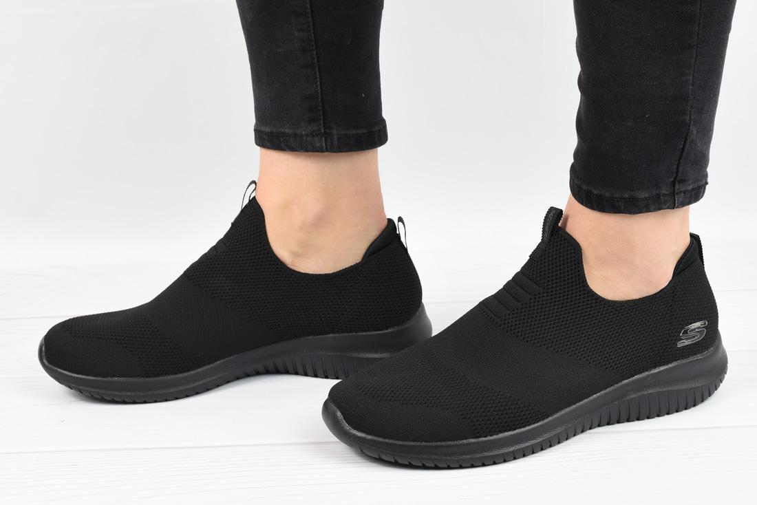 נעלי סקצרס ללא שרוכים נשים Skechers Ultra Flex