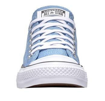 נעלי אולסטאר תכלת מנצנץ נשים Converse Precious Metals