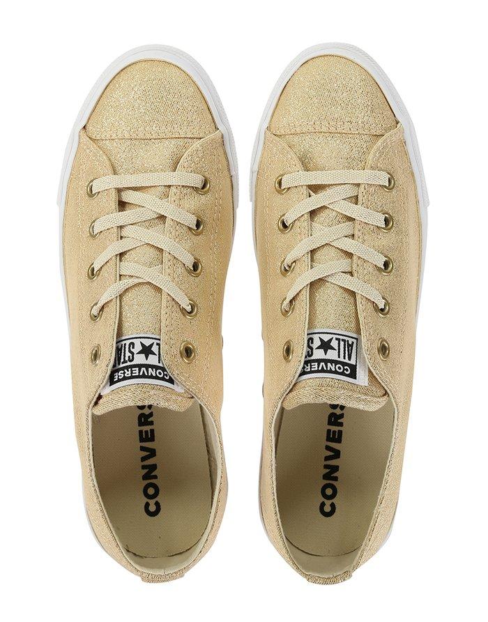 נעלי אולסטאר זהב בובה Converse Dainty Gold