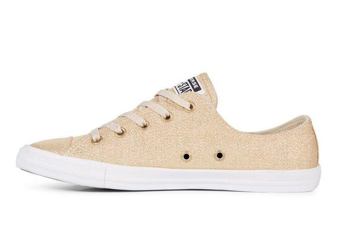 נעלי אולסטאר זהב בובה נשים Converse Dainty Gold