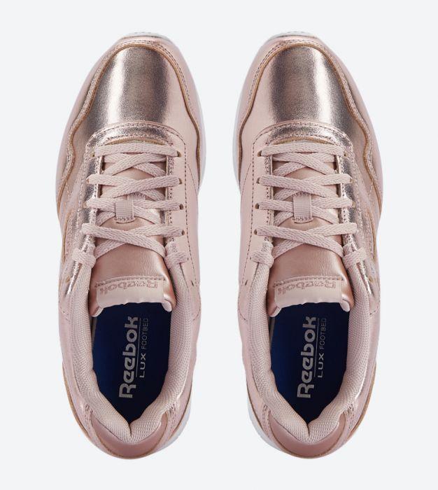 נעלי ריבוק ורוד מטאלי נשים Reebok Royal Glide LX - תמונה 3