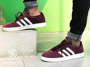נעלי אדידס אופנה גברים Adidas VL Court 2.0 - תמונה 4