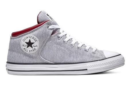נעלי אולסטאר אופנתי גברים Converse Street Mid