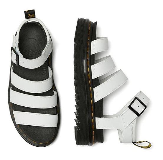 סנדלי דוקטור מרטינס בלייר Doctor Martens Blaire White Hydro Leather