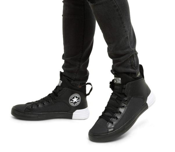 נעלי אולסטאר אולטרא גברים Converse Ultra Mid - תמונה 4