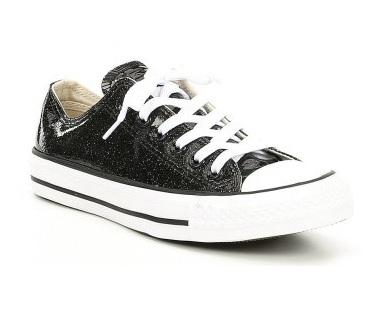 נעלי אולסטאר שחור מנצנץ Converse Glitter Black