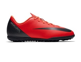 נייק קטרגל ילדים Nike Mercurial Vaporx 12 Club CR7 TF