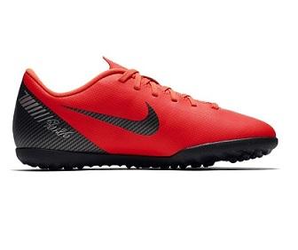 נייק קטרגל ילדים Nike Mercurial Vaporx 12 Club CR7 TF  - תמונה 2