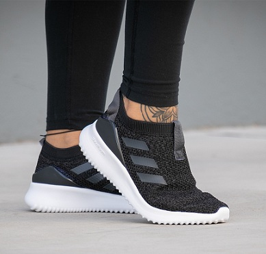 נעלי אדידס ספורט נשים נוער ללא שרוכים Adidas UltimaFusion - תמונה 1