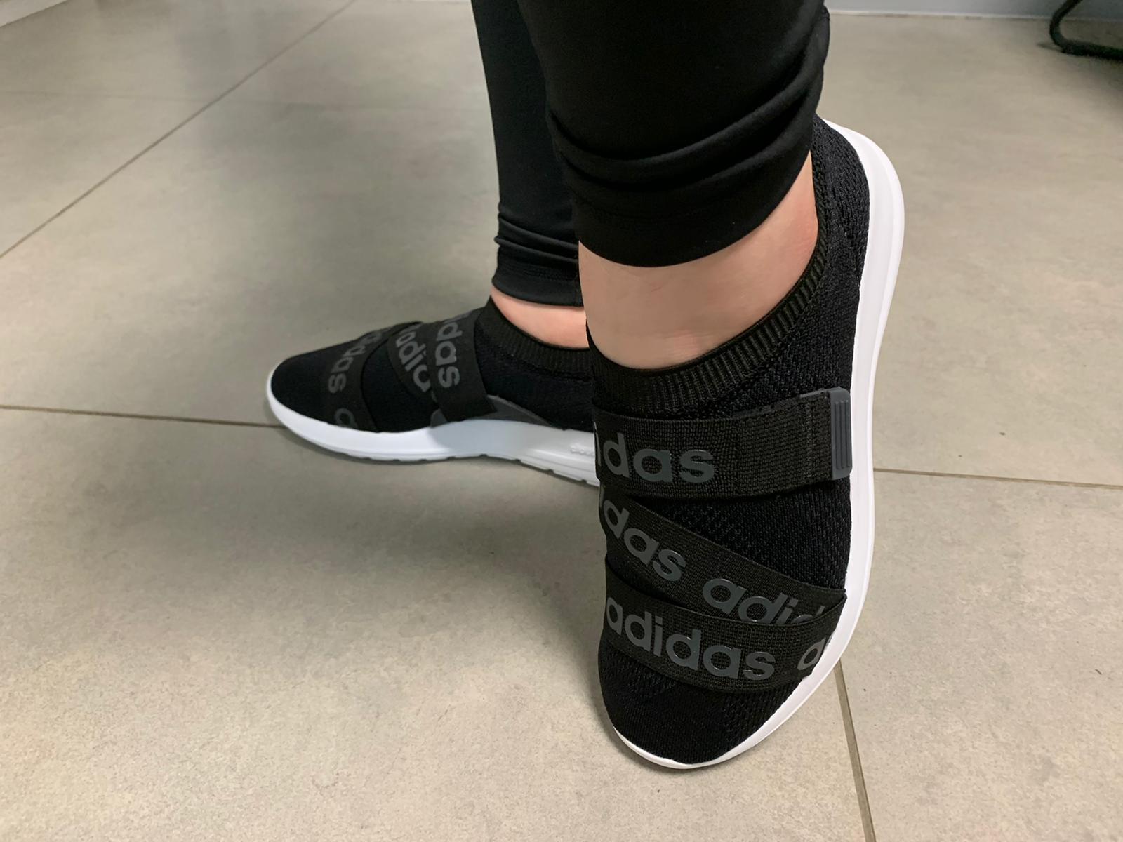 נעלי אדידס ספורט נשים נוער ללא שרוכים Adidas Khoe Adapt X