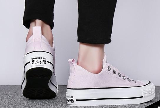 נעלי אולסטאר פלטפורמה ללא שרוכים נשים Converse Platform Slip - תמונה 2