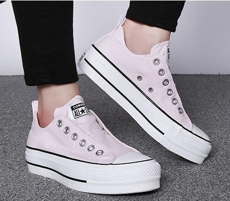 נעלי אולסטאר פלטפורמה ללא שרוכים נשים Converse Platform