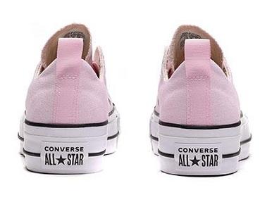 נעלי אולסטאר פלטפורמה ללא שרוכים נשים Converse Platform Slip - תמונה 6