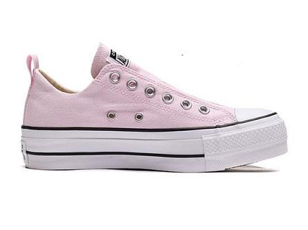 נעלי אולסטאר פלטפורמה ללא שרוכים נשים Converse Platform Slip - תמונה 4