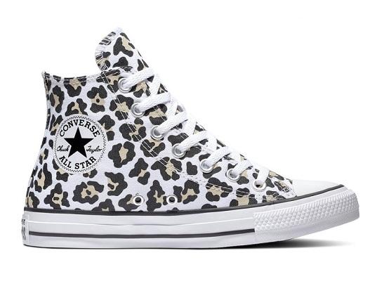 נעלי אולסטאר מנומר כיס נשים Converse Leopard Pocket - תמונה 1