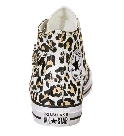 נעלי אולסטאר מנומר כיס נשים Converse Leopard Pocket - תמונה 4