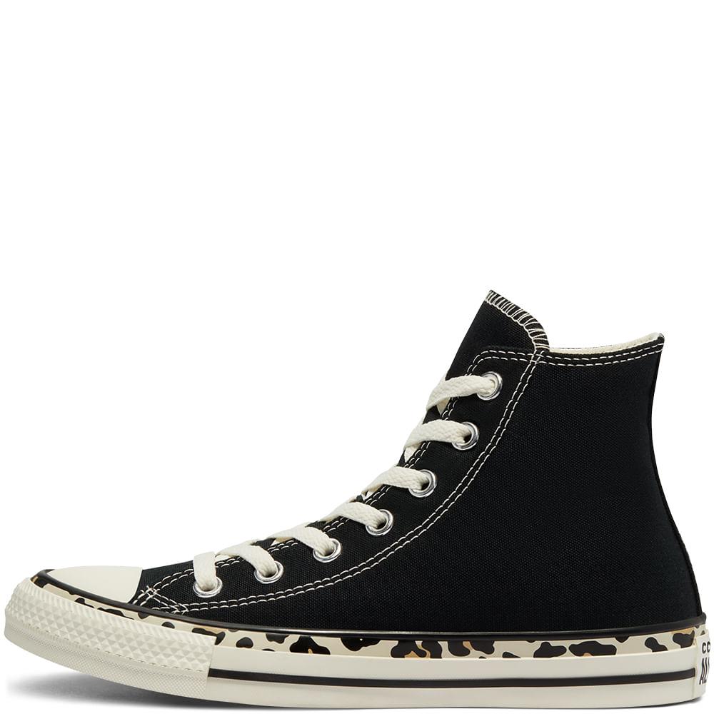 נעלי אולסטאר מנומר נשים Converse Leopard Print