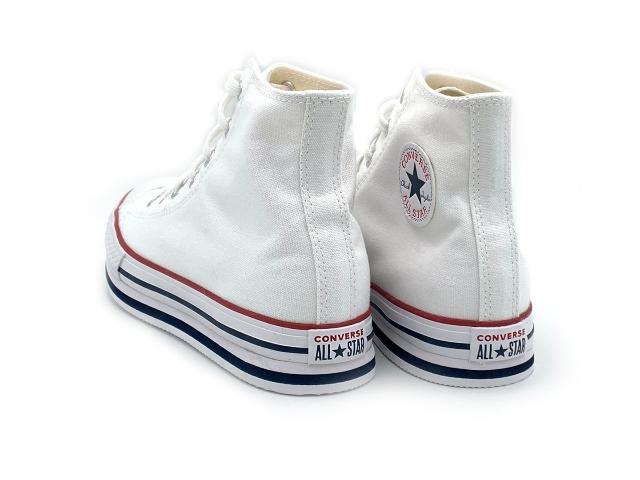 נעלי אולסטאר פלטפורמה גבוה ילדים Converse Platform Kids