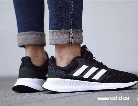 נעלי אדידס ספורט הליכה גברים Adidas Runfalcon - תמונה 2