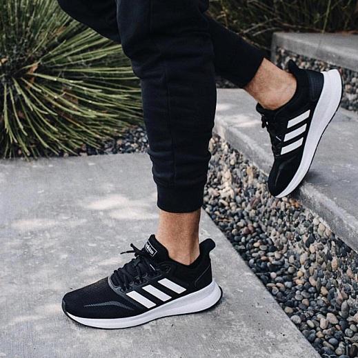 נעלי אדידס ספורט הליכה גברים Adidas Runfalcon - תמונה 4