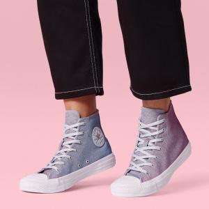 נעלי אולסטאר מנצנץ נשים Converse Pure Platinm - תמונה 3