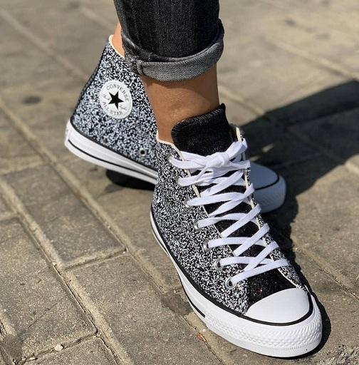 נעלי אולסטאר מנצנץ נשים Converse