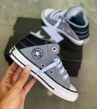נעלי אולסטאר ילדים Converse Axel Mid