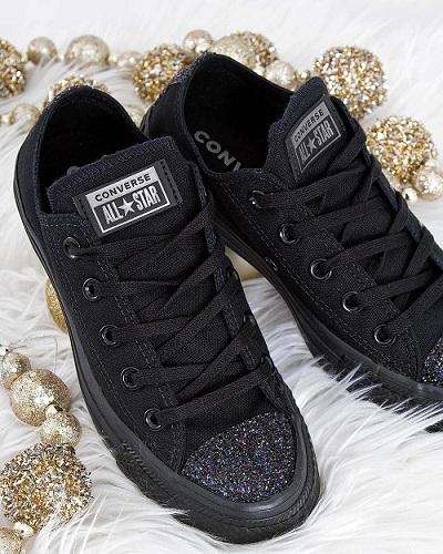 נעלי אולסטאר מנצנץ נשים Converse Sugar Charms