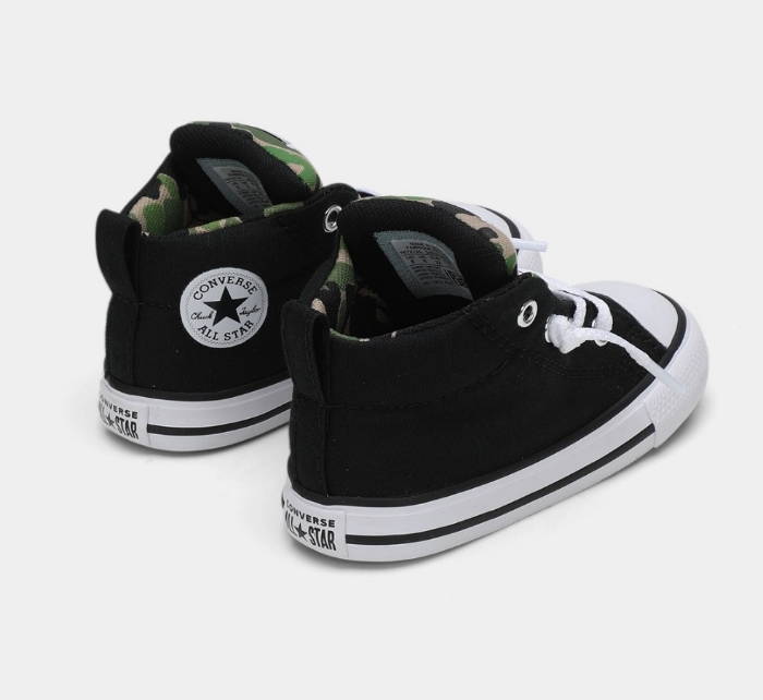 נעלי אולסטאר תינוקות Converse Black Archive - תמונה 3