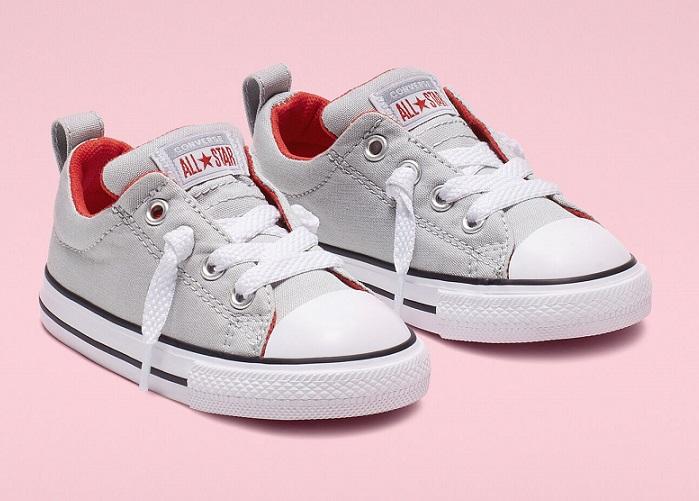 נעלי אולסטאר תינוקות Converse Stree Slip - תמונה 1