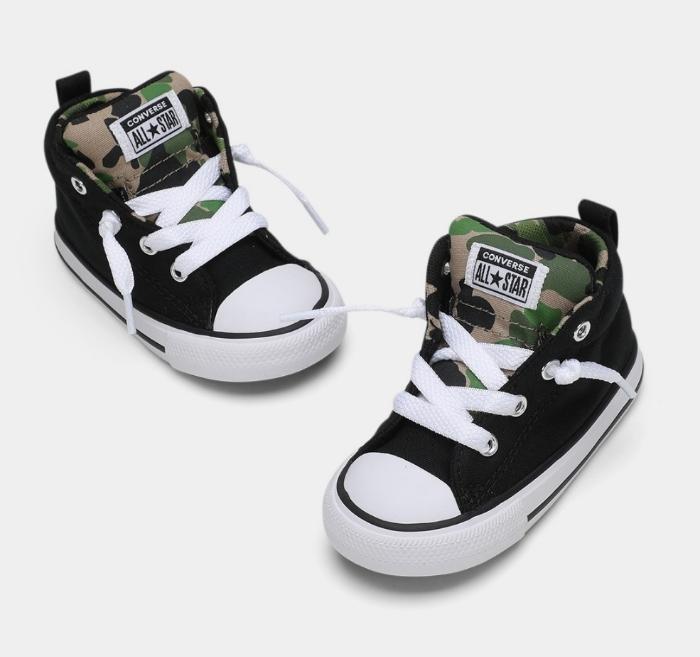 נעלי אולסטאר תינוקות Converse Black Archive - תמונה 2