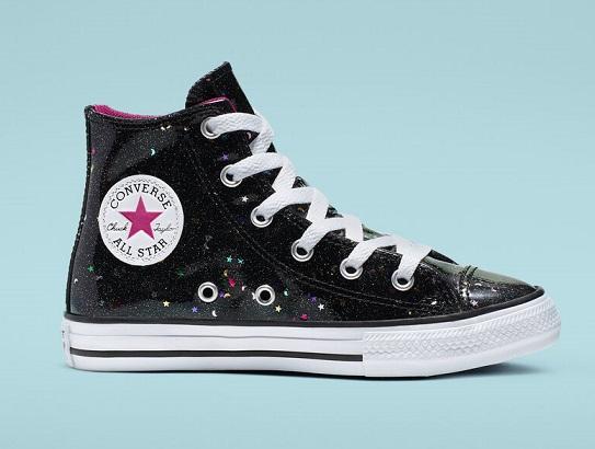 נעלי אולסטאר ילדות Converse Galaxy Shimmer  - תמונה 2