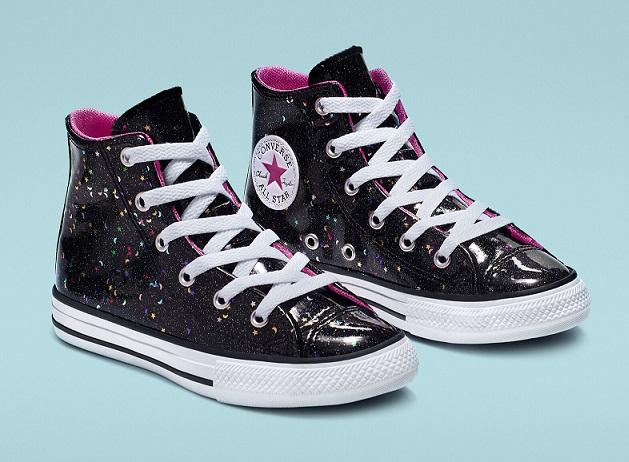 נעלי אולסטאר ילדות Converse Galaxy Shimmer