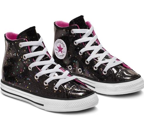 נעלי אולסטאר ילדות Converse Galaxy Shimmer  - תמונה 1